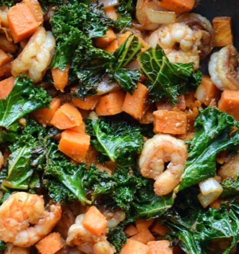 Shrimp Sweet Potato